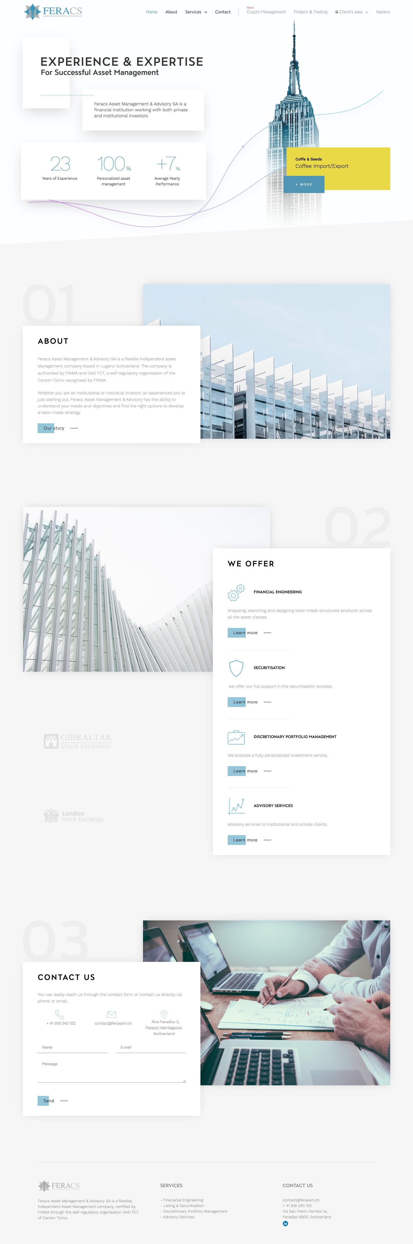 Feracs project design file